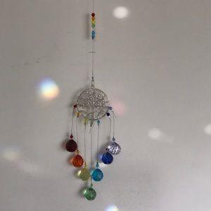 Sun catcher - Tree of life crystal